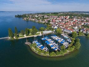 Seehof mit Yachthafen