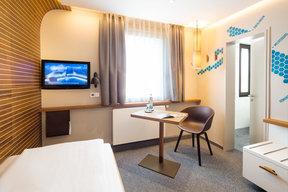 Standard Einzelzimmer ohne Seesicht und ohne Balkon