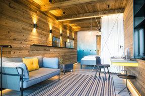 Bootshaus – Doppelzimmer Appartement mit Seesicht & Terrasse.